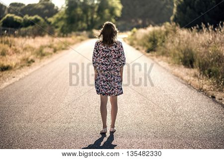 The Girl On The Road