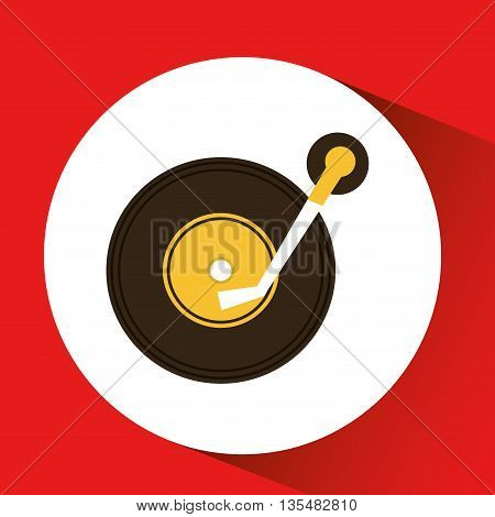 retro music design, vector illustration eps10 graphic