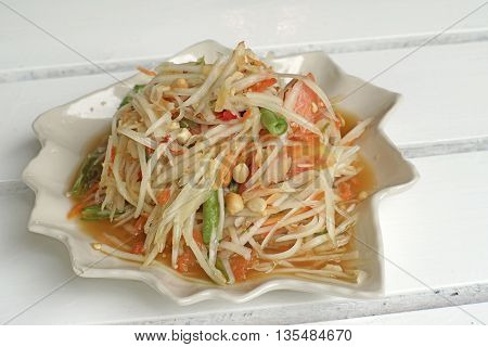 Papaya Salad Or Som-tam