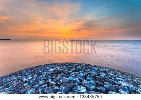 Pier Head Sun Set