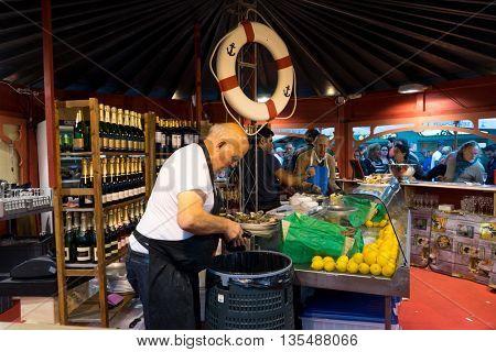 zurich,switzerland:busy food market in switzerland by zhudifeng on Oct 5 2015