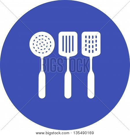 Spatula, kitchen, food icon vector image. Can also be used for kitchen. Suitable for use on web apps, mobile apps and print media.