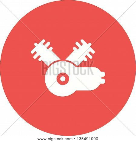 Engine, car, motor icon vector image. Can also be used for car servicing. Suitable for use on web apps, mobile apps and print media.