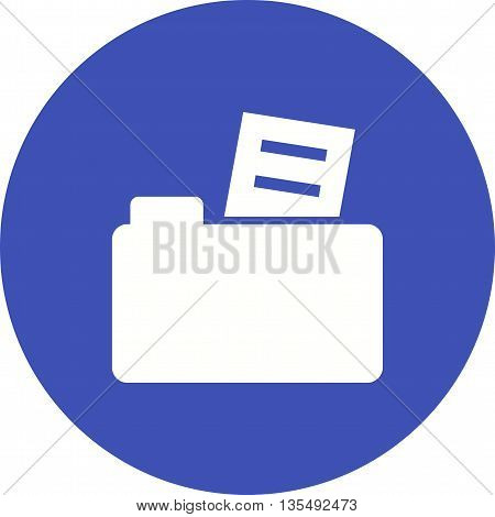 Folder, files, computer icon vector image.Can also be used for data sharing. Suitable for mobile apps, web apps and print media.