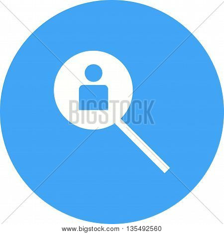 Hiring, job, search icon vector image.Can also be used for data sharing. Suitable for mobile apps, web apps and print media.