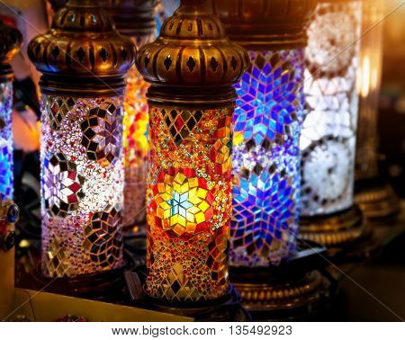 Turkish Colorful Lamp