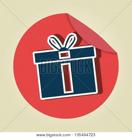 gift icon  design, vector illustration eps10 graphic