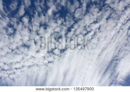 Cloud Textures with Blue Sky 1