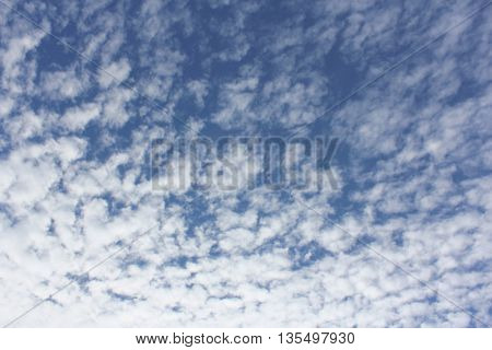 Cloud Textures with Blue Sky 7