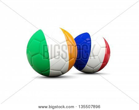 France And Ireland Soccer Balls