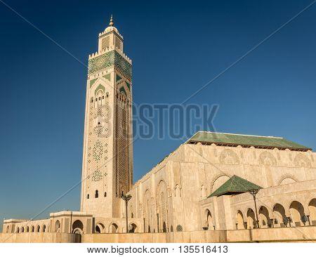 marocco hassan 2 moschea casablanca islamic church