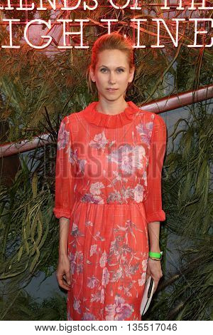 NEW YORK-JUNE 22: Indre Rockefeller attends the 2016 Coach And Friends Of The High Line Summer Party at The High Line on June 22, 2016 in New York City.