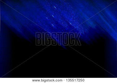Luxury blue indigo copy space background illustration