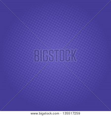 Pop Art Background, Dots on Lilac Background, Halftone Background, Retro Style, Vector Illustration