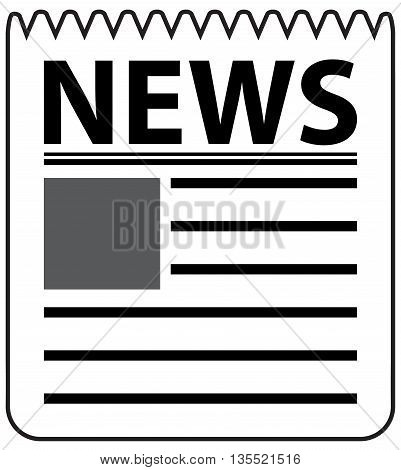 News Paper breaking clip art daily headline headlines
