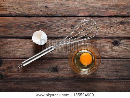 Egg Ready To Whisking