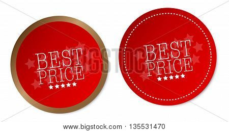 Best Price on red stickers with soft shadow