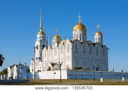 Assumption cathedral at Vladimir built in the 12th century (Russia)