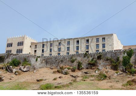 Nice Hotel Located in the northwest of Spain. Ancient fortress