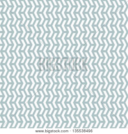 Geometric pattern with white triangles. Seamless abstract background