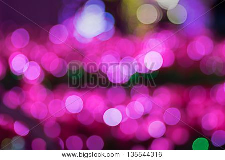 Abstract background with bokeh, a blurred background
