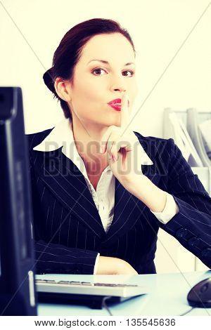 Silence in work.