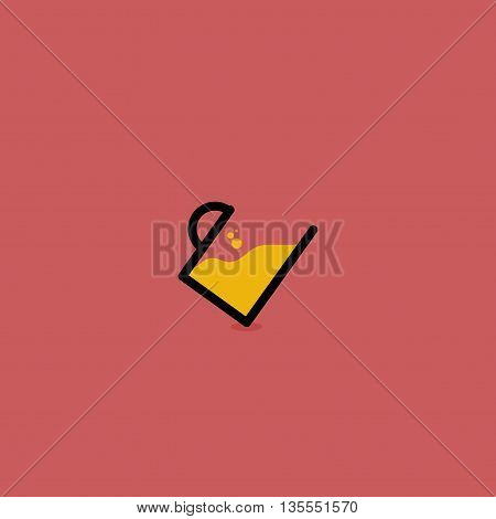 Beer glass icon illustration vector in eps 8 easy to edit