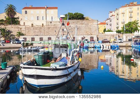 Old Port Of Ajaccio, Corsica, France