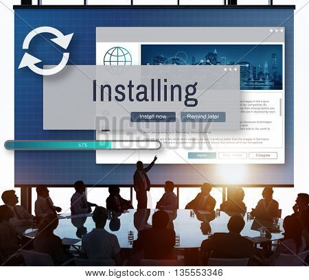 Installing Install Manual Privacy Support Setup Concept