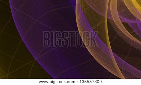 abstract colorful smoke flame over black background.