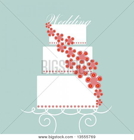 vector wedding card