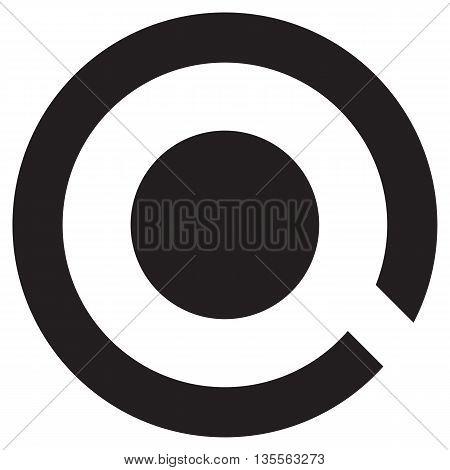 Letter Q Logo Concept Icon vector shape