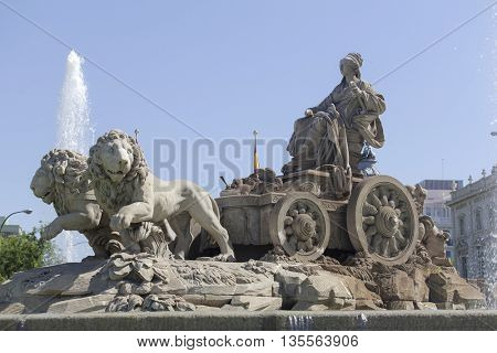 Cybele Fountain