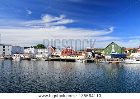 Norway Fishing Village