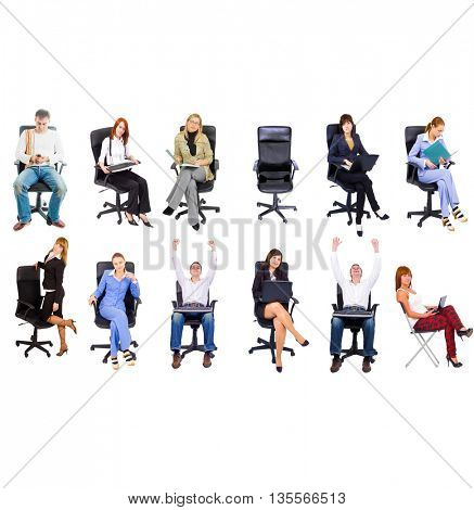 Many Colleagues People Diversity