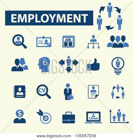 employment icons