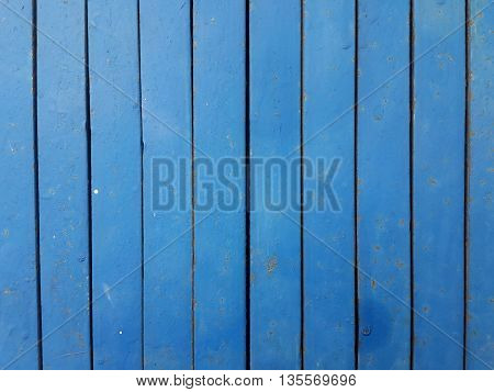 close up old blue steel door texture background