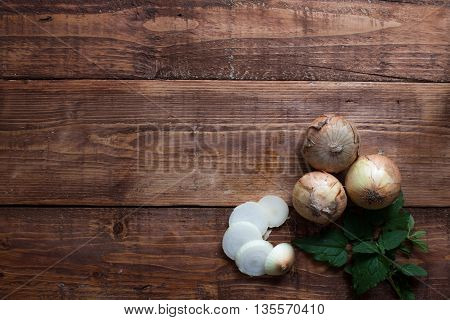 Potatoes on wooden background  sliced potatoes food