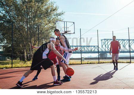 Dribbling A Ball