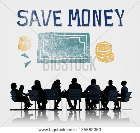 Save Money Management Economy Finance Concept