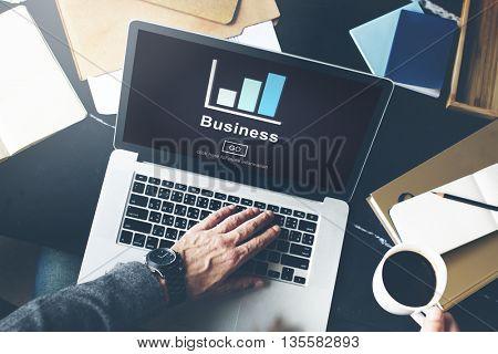 Business Chart Concept