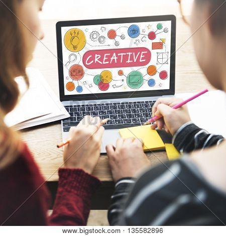 Creative Creativity Thinking Invention Concept