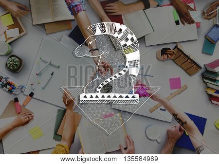 Strategy Mission Planning Process Tactics Plan Concept