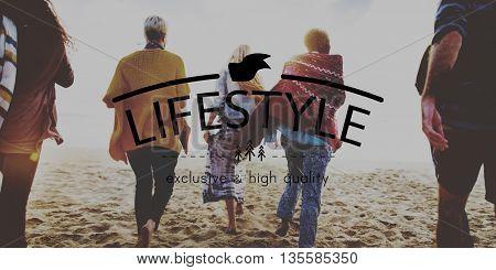 Lifestyle Simplicity Habits Life Concept
