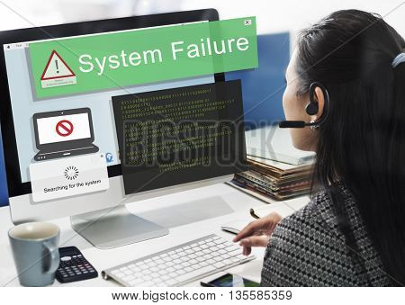 System Failure Error Detection Defeat Concept