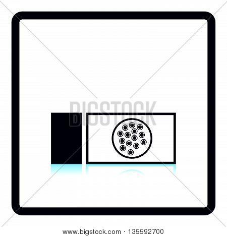 Bacterium Glass Icon