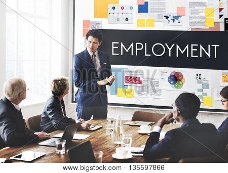 Employment Human Resources Hiring Concept
