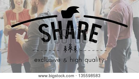Share Connection Information Networking Social Concept