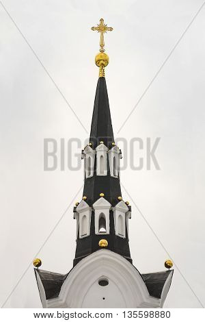 Gothic style. Russian Gothic. Russian Neo-Gothic architecture of the 18th century reign of Catherine 2.