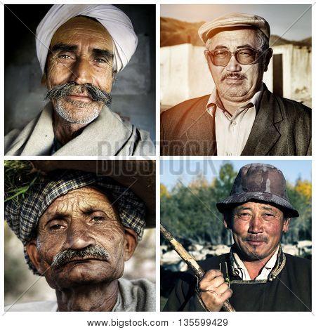 Ethnicity Diversity Humanism Variation Concept